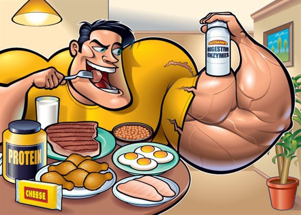 Завтрак на массу