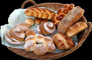 Свежий хлеб, любого вида тесто, пирожки