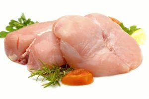 Нежирные сорта мяса птицы, кролика, индейки, говядины, телятины
