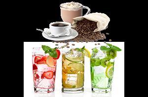 Кофе какао и холодные напитки